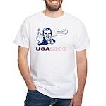 USA 2010 White T-Shirt