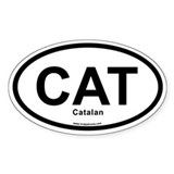 CAT Catalan Decal