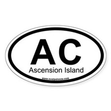 Ascension Island Decal