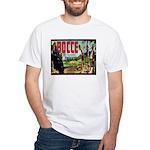 White Bocce Grape Label T-Shirt
