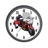 Funny Bike show Wall Clock