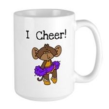 Cheerleader Purple and Gold Mug