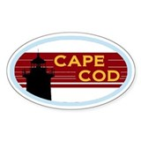 Cape Cod Bumper Sticker Decal
