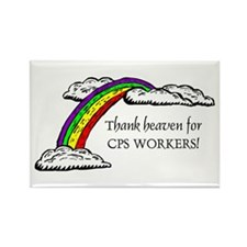 Thank Heaven CPS Rectangle Magnet