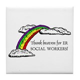 Thank Heaven ER Tile Coaster