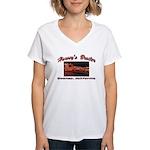 Harvey's Broiler Women's V-Neck T-Shirt