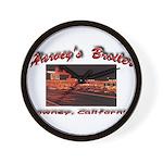 Harvey's Broiler Wall Clock