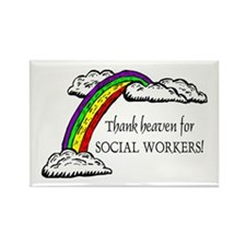 Thank Heaven SW Rectangle Magnets (10 pack)