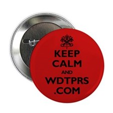 "KEEP CALM WDTPRS.COM 2.25"" Button"