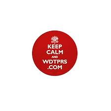 Cute Keep calm wdtprs.com Mini Button (10 pack)