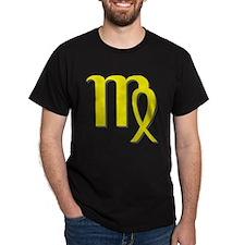 Virgo Black T-Shirt