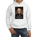 Safety Freedom President Jefferson Hooded Sweatshi