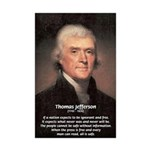 Safety Freedom President Jefferson Mini Poster Pri
