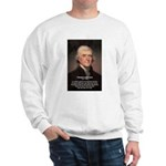 Safety Freedom President Jefferson Sweatshirt