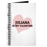 Juliana Is My Valentine Journal
