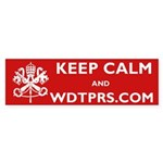 KEEP CALM WDTPRS.COM Sticker (Bumper 10 pk)