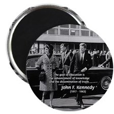 "JFK Knowledge Education 2.25"" Magnet (10 pack)"