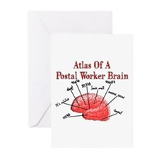 Postal Worker III Greeting Cards (Pk of 10)