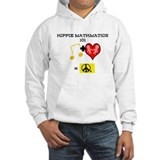HIPPIE MATHMATICS 101 HOODIE (WHITE OR GREY)