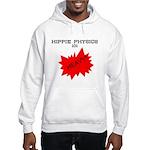 HIPPIE PHYSICS 101 HOODIE (WHITE OR GREY)