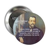 "Science Knowledge Pasteur 2.25"" Button (100 pack)"