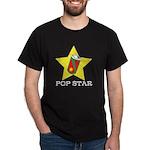 POP STAR DARK TEE (100 % COTTON)