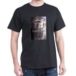 Greek Philosophy Plato Black T-Shirt