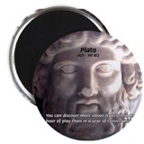 Greek Philosophy Plato Magnet