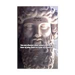 Greek Philosophy Plato Mini Poster Print