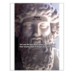Greek Philosophy Plato Small Poster