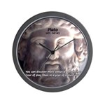Greek Philosophy Plato Wall Clock