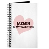 Jazmin Is My Valentine Journal