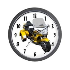 Unique Bike show Wall Clock