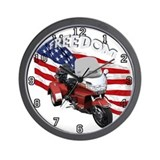 Cool Bike show Wall Clock