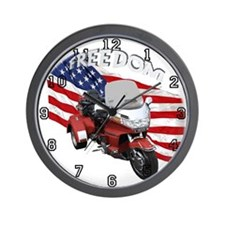 Cool Goldwing trikes Wall Clock