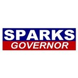 Ron Sparks for Alabama Governor Bumper Sticker