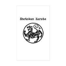 Funny Shotokan karate Decal