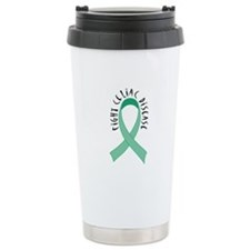 Fight Celiac Disease Ceramic Travel Mug