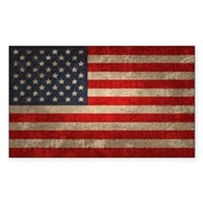 American Flag -xdist Decal