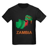 Map Of Zambia  T