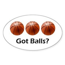 Basketball Got Balls Decal