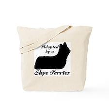 ADOPTED by Skye Terrier Tote Bag