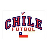 CL Chile Futbol Soccer Postcards (Package of 8)