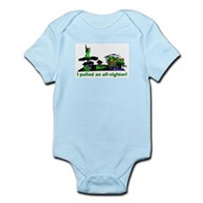 Cute All nighter Infant Bodysuit