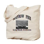 Rainbow Pier Tote Bag