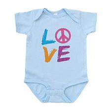 Love Peace Sign Onesie