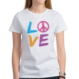 Love Peace Sign Tee