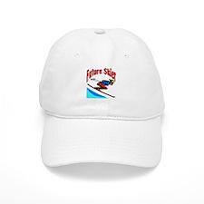 Future Snow Skier Baseball Cap