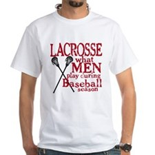 Men Play Lacrosse Shirt