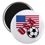 "USA Soccer Team 2.25"" Magnet (100 pack)"